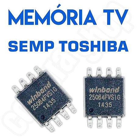Memoria Flash Tv Semp Le3273a W Chip Gravado