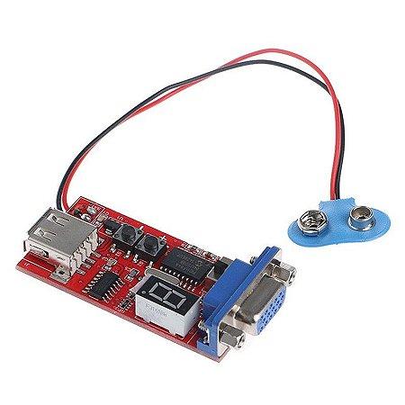 Gerador de Sinal Módulo Testador Tela de Monitor Lcd Led Vga
