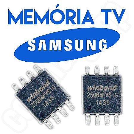 Memoria Flash Tv Samsung Un40eh6030g Ic601 Placa Tcon Chip Gravado