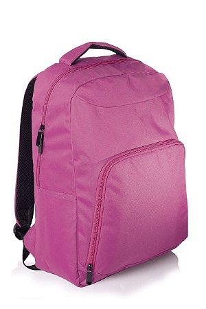 Mochila College p/ Notebook até 15.6' Rosa Multilaser BO318