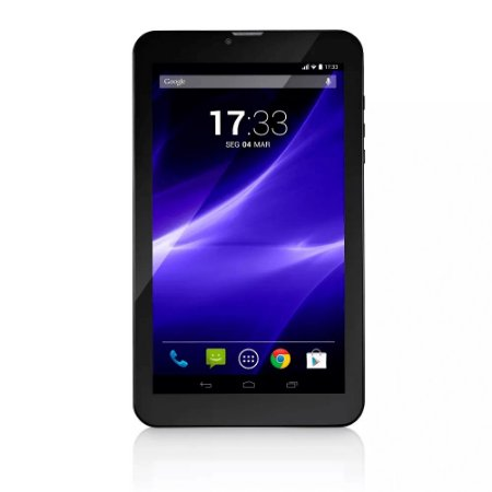 "Tablet M9-3G Quad 8GB 9"" Preto Multilaser- NB247"