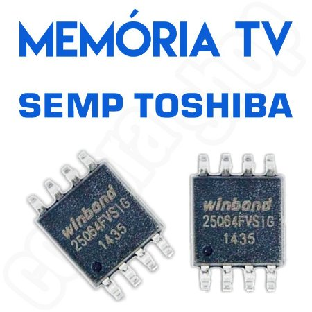 Memoria Flash Tv Semp Le3974af Chip Gravado