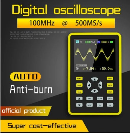 Osciloscópio Digital Portátil 100mhz Reparo De Notebook E Tv