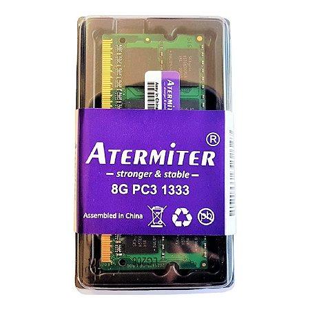 Memória Ram 8gb Ddr3 Pc-10600 1333mhz 1.5v Notebook e Mac