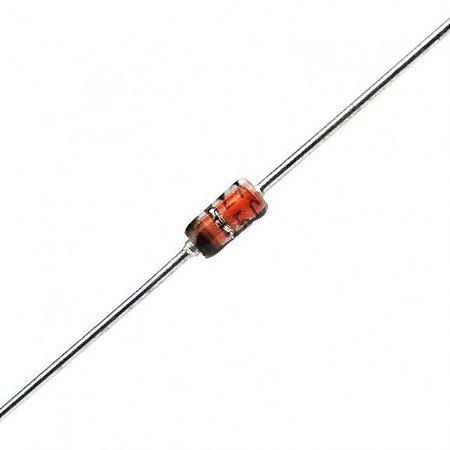 Diodo Zener 2v7 0.5w Kit 10x Unidades