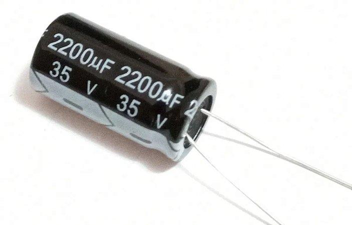 Capacitor Eletrolítico 2200uf 35v
