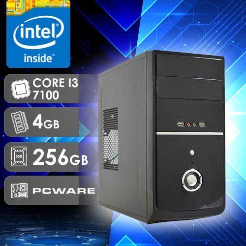 PC DESKTOP 242 INTEL CORE I3 7ª GERAÇÃO 4GB RAM SSD 256GB