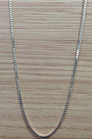 Corrente Veneziana 60cm  - Prata de Lei 925