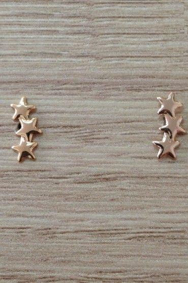 Brinco Três estrelas - Rommanel