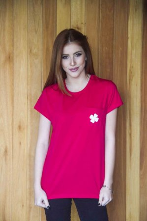 Camiseta Feminina Lucky Girl