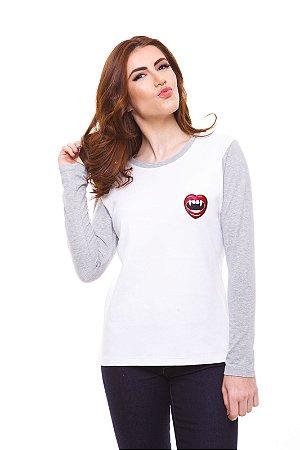 Camiseta Feminina GRL PWR Patches Vamp
