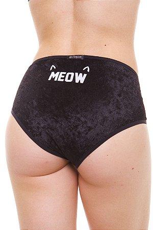 Calcinha Alta/Hot Pants Meow