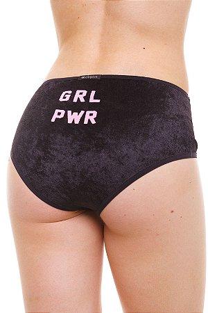 Calcinha Alta / Hot Pants Girl Power