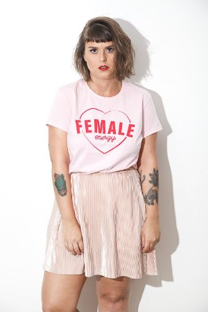 Camiseta Feminina Female Energy