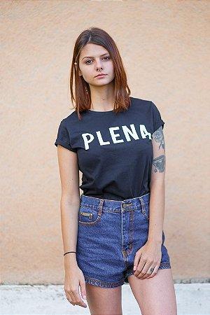 Camiseta Feminina Plena Preta