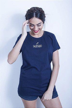 Camiseta Feminina Signo Sagitário