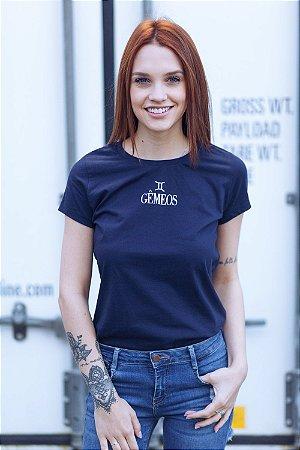 Camiseta Feminina Signo Gêmeos