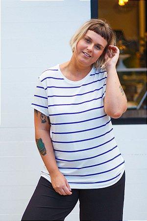 Camiseta Feminina Listrada Bellini