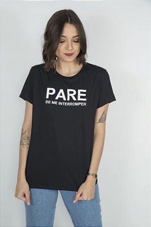 Camiseta Feminina PARE