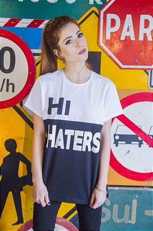 Camiseta Feminina Hi Haters
