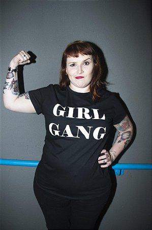 Camiseta Girl Gang Black