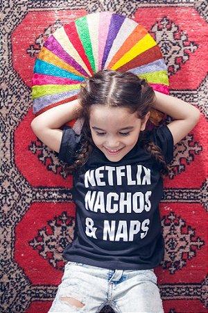 Camiseta Infantil Netflix