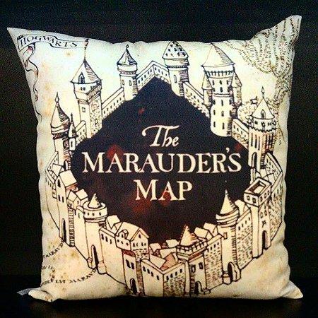 Almofada Mapa do Maroto - Harry Potter
