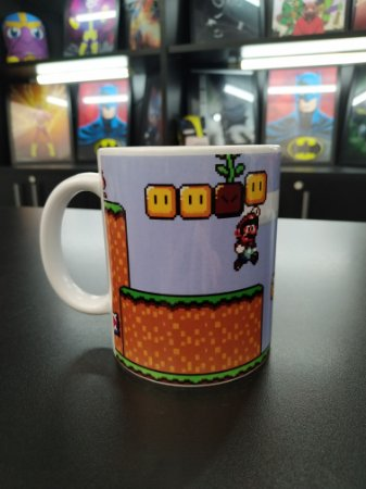 Caneca Super Mario (Fase)