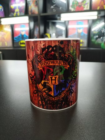 Caneca Hogwarts (Harry Potter)