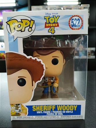 Funko Pop Toy Story 4 - Sheriff Woody 522