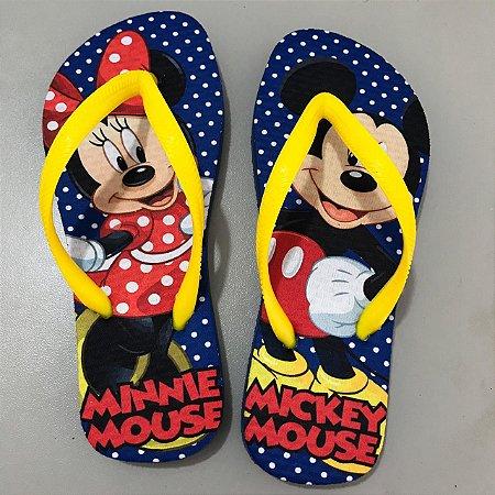 Chinelo Mickey e Minnie