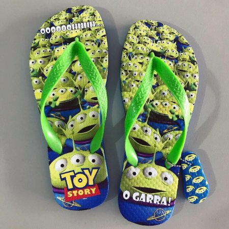 Chinelo Aliens - Toy Story