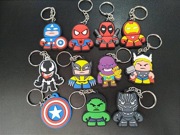 Chaveiros Marvel