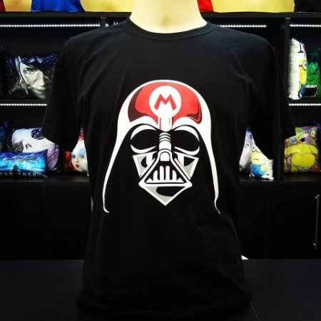 Camiseta Darth Mario