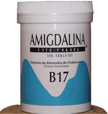 Vitamina B-17( Amigdalina, Laetrile ) - Tratamento Natural para Câncer, 100 tabletes
