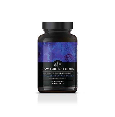 Fórmula do Reforço Endocrino: Pine Pólen Alquimia - 120 Cápsulas