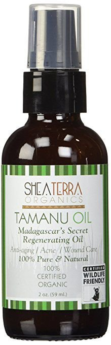 Óleo de Tamanu (certificado orgânico) 100% puro Madagascar, Shea Terra, 59ml