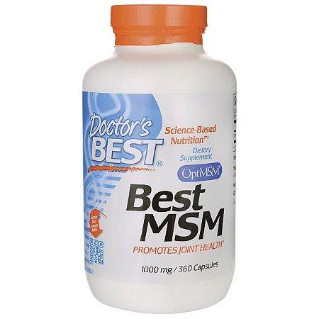 Best MSM, Doctor's Best, 1.000mg, 360 caps
