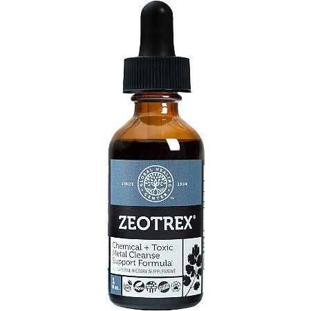 ZEOTREX®, Limpador de químicas e toxinas do corpo, GHC, 1floz