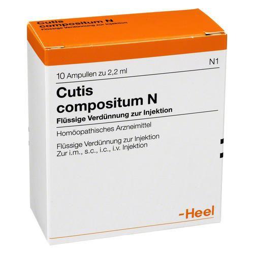 Cutis Compositum, Heel, 10 ampolas