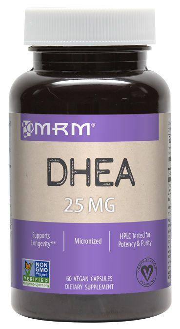 DHEA Micronizada, MRM, 25 mg, 90 Veggie Caps