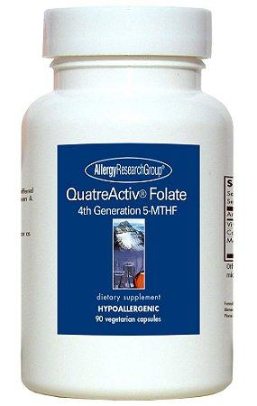 QuatreActiv® Folate, 4ª Geração, 5-MTHF, 90 Cápsulas Vegetarianas