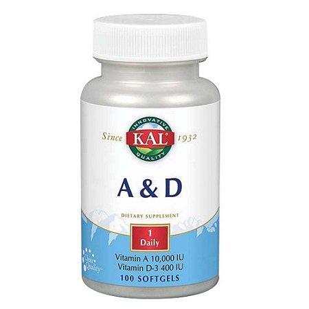 Vitamina A & D 10.000/400 IU (100 SOFTGELS)