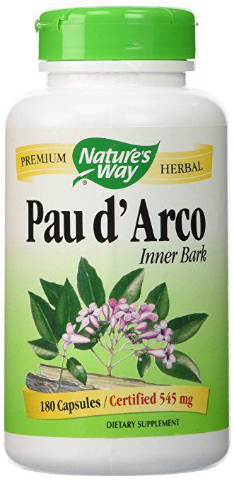Pau d'Arco, Nature's Way, 545 mg, 180 Veggie Caps