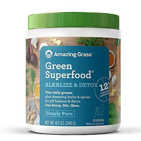 Alkalize & Detox Green SuperFood® Amazing Grass - 240g