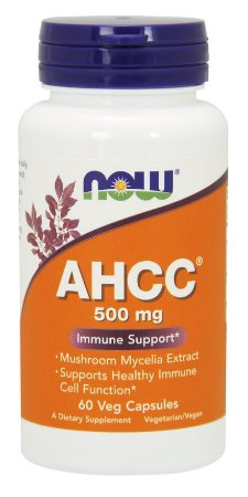 AHCC®, Now Foods, 500 mg, 60 Veg Capsules