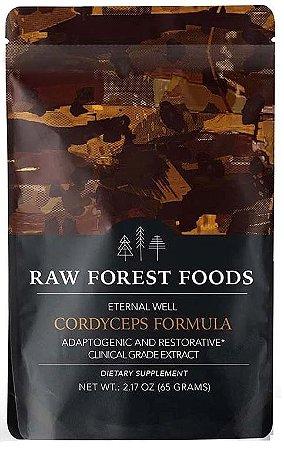 Extrato de Cordyceps (Fórmula do Bem Eterna), Raw Forest Foods - 65g