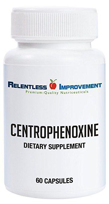Centrofenoxina, Relentless Improvement, 250mg, 60 capsulas