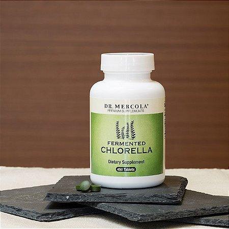 Chlorella Fermentada, Dr. Mercola, 450 comprimidos