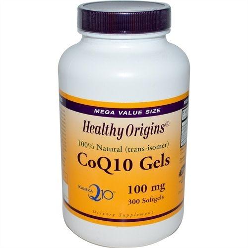 CoQ10 Gels ( Kaneka Q10 ), Healthy Origins, 100 mg, 300 Softgels